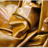 Pull-up aniline leather
